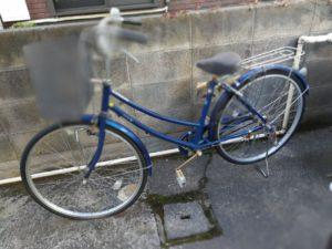 江東区で自転車の回収を承りました。
